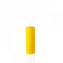 "Beeswax candle ""Wind"" 100% Natural and Pure"