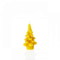 "Beeswax candle ""Christmas tree""- 100% Natural"
