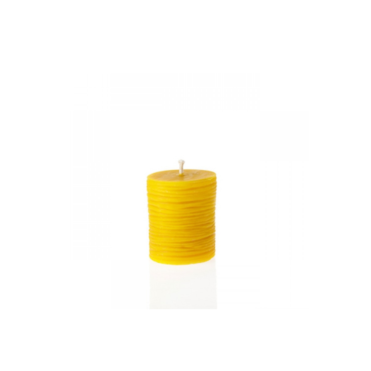 "Eco Beeswax candle ""Peace""-100% Natural"