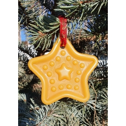 """Exclusive Beeswax Christmas toy """"Star"""""""
