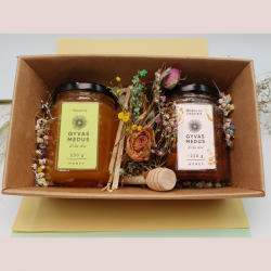 Christmas honey gift box